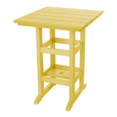 Pawleys Island Console Table Color: Yellow