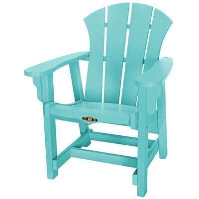 Pawleys Island Sunrise Conversational Adirondack Chair - Color: Turquoise