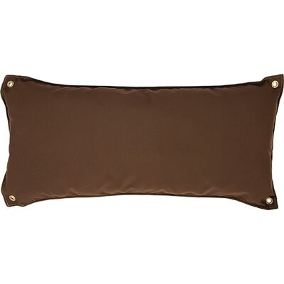 Edney Traditional Hammock Pillow Color: Canvas Cocoa