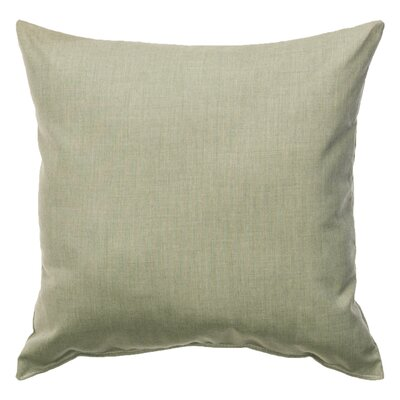 Indoor/Outdoor Sunbrella Throw Pillow Color: Cast Oasis, Size: 18 x 18