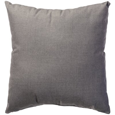Halliburton Indoor/Outdoor Sunbrella Throw Pillow Color: Cast Slate, Size: 24 x 24