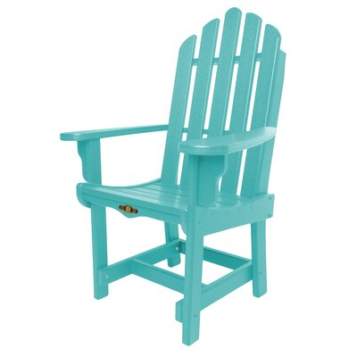 Essentials Arm Chair Finish: Turquoise