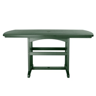 Dining Table Finish: Pawleys Green, Size: 45 L x 46 W