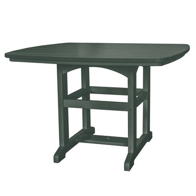 Dining Table Finish: Pawleys Green, Size: 60 L x 46 W