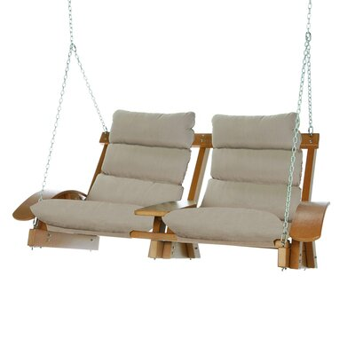 Coastal Porch Swing Color: Spectrum Sand