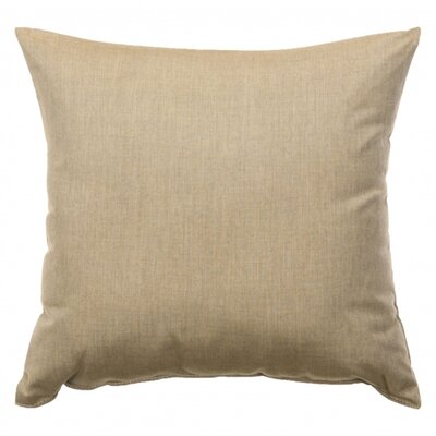 Indoor/Outdoor Sunbrella Throw Pillow Color: Cast Tinsel, Size: 18