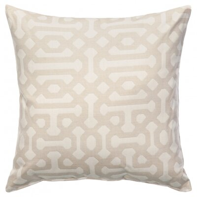 Shara Outdoor Sunbrella Throw Pillow Size: 24 x 24