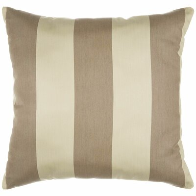 Halpin Outdoor Sunbrella Throw Pillow Size: 24 x 24