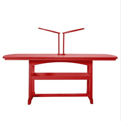 LED 20 Table Lamp Finish: Red