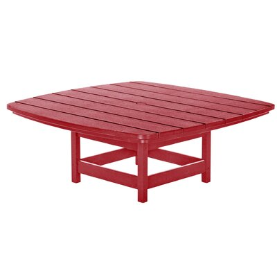 Chat Table Finish: Red