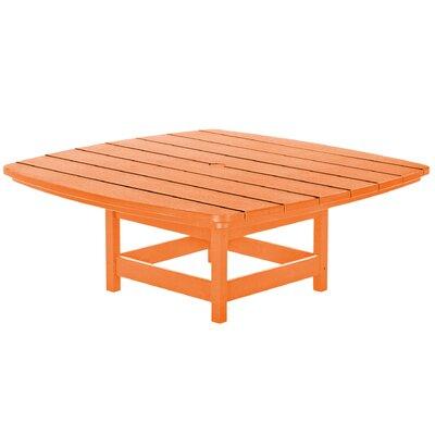 Chat Table Finish: Orange