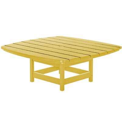 Chat Table Finish: Yellow