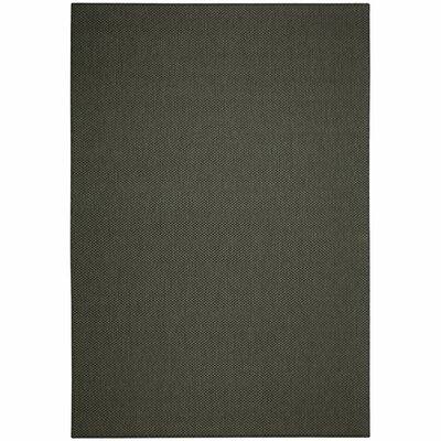 Low Country Grey Solid Indoor/Outdoor Area Rug Rug Size: 76 x 109