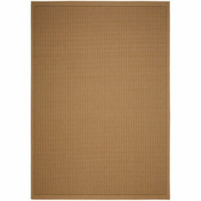 Eger Natural Solid Indoor/Outdoor Area Rug Rug Size: Rectangle 5 x 7