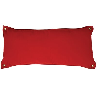 Traditional Hammock Pillow Color: Canvas Jockey Red