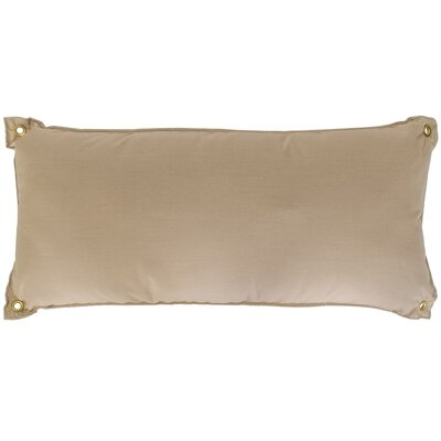 Edney Traditional Hammock Pillow Color: Spectrum Sand