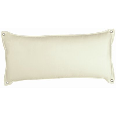 Edney Traditional Hammock Pillow Color: Natural Chambray