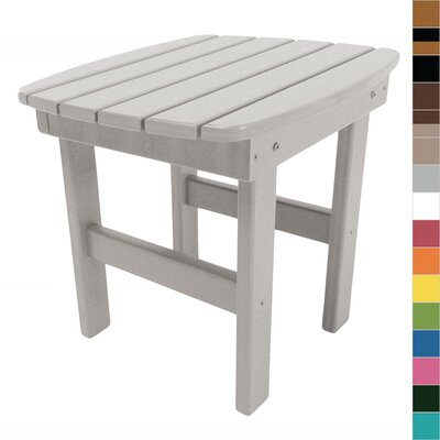 Essentials Side Table Finish: Gray