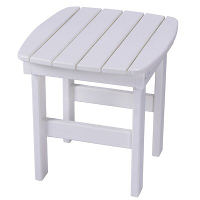 Essentials Side Table Finish: White