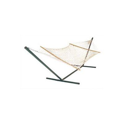Pawleys Island Cotton Rope Tree Hammock Size: Deluxe (XL)