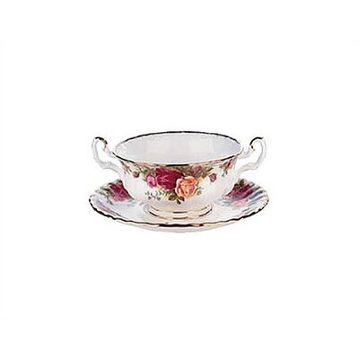 Old Country Roses 11 Oz Cream Soup Cup
