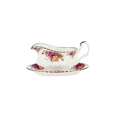 Old Country Roses 19 Oz Gravy Boat