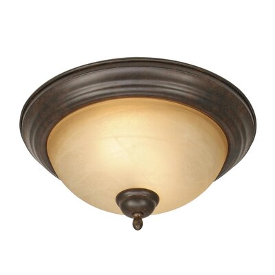 Lenora 2-Lights Flush Mount