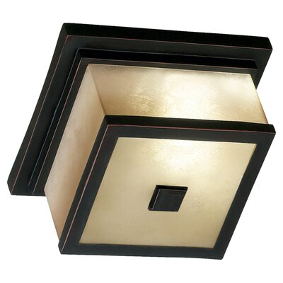Plateau 2-Light Flush Mount