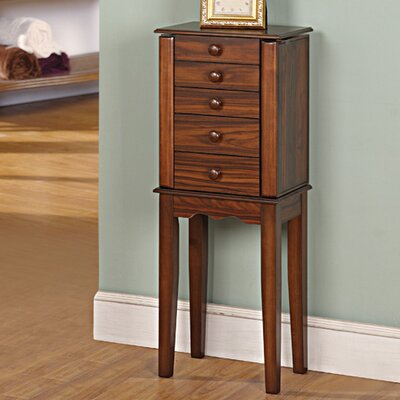 Prolific Jewelry Armoire with Mirror