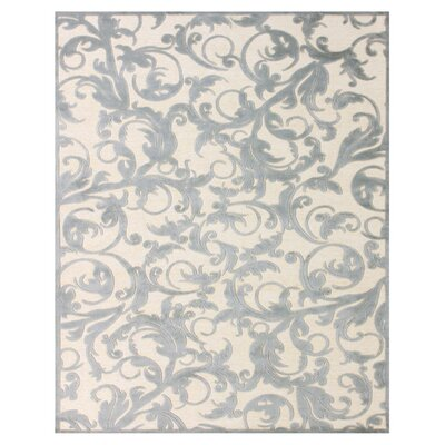 Caples Cream/Silver Area Rug Rug Size: Runner 26 x 8