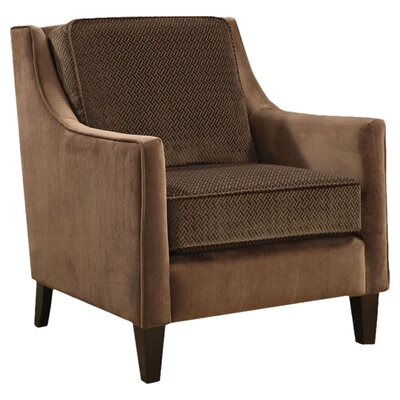 Contrasting Velvet Chair