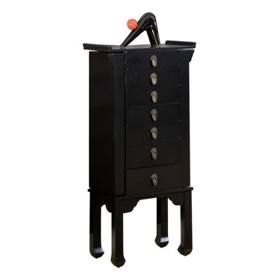 Ningbo Chinese Jewelry Armoire with Mirror