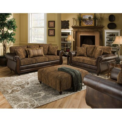 Wildon Home AM8100-S-TC Portho Living Room Collection