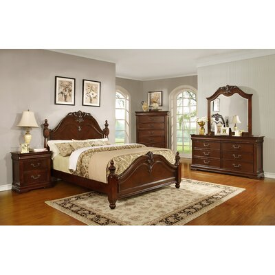 Celine King Panel Customizable Bedroom Set
