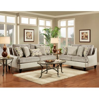 Wildon Home JH-2128-03-S Monte Carlo Living Room Collection
