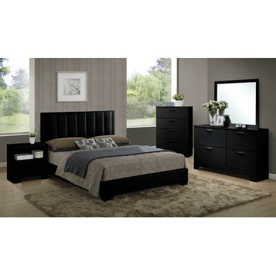 Moderno Twin Platform Customizable Bedroom Set