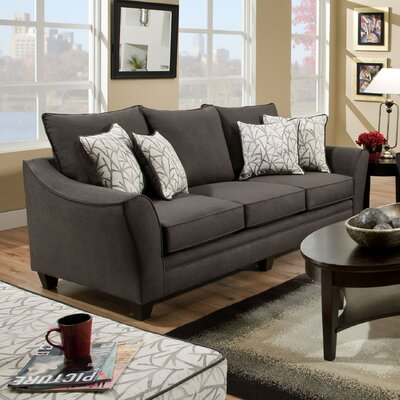 BN4961T-TFBM CST16503 Wildon Home Flannel Seal Sofa