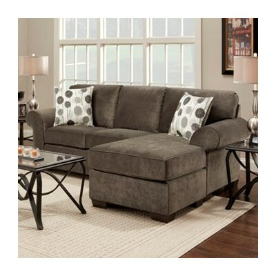 Shearson Sectional Upholstery: Grey
