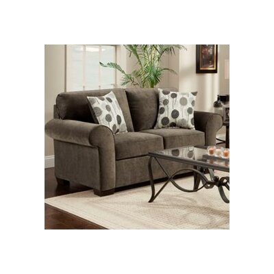 Shearson Loveseat Upholstery: Grey