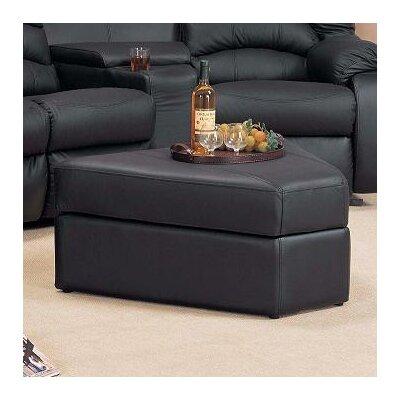 Ventura Storage Ottoman  Upholstery: Black