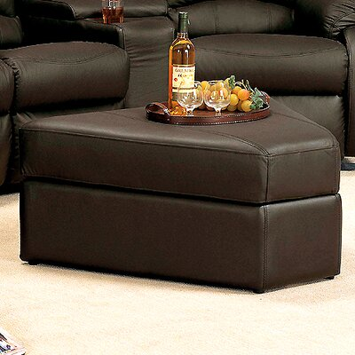 Ventura Storage Ottoman  Upholstery: Brown