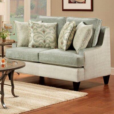 Monte Carlo Loveseat Upholstery: Jade Green