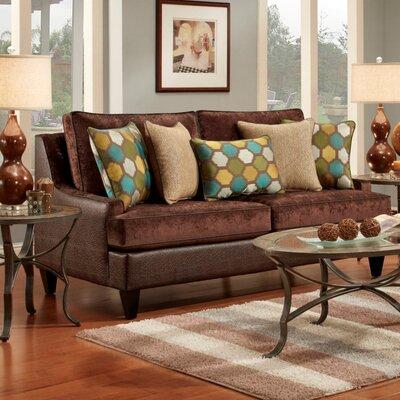 Monte Carlo Sofa Upholstery: Chocolate