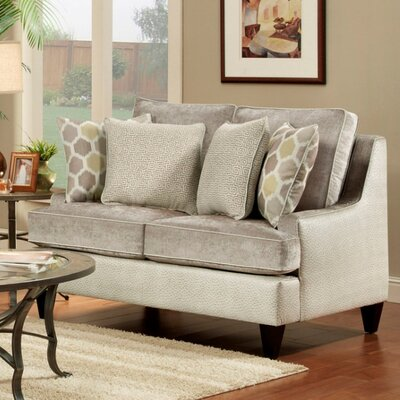 Monte Carlo Loveseat Upholstery: Lavender