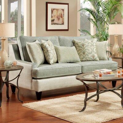 Monte Carlo Sofa Upholstery: Jade Green