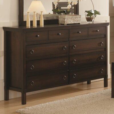 Hudson Valley 8 Drawer Standard Dresser