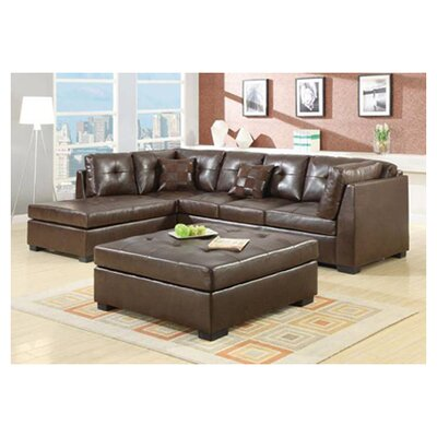 Brayden Studio BRSD3614 26119521 Meyers New Hope Left Hand Facing Sectional