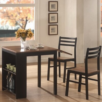 3 Piece Dining Set with Drop Leaf