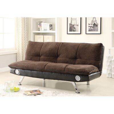 Convertible Sofa Upholstery: Dark Brown