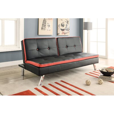 611877 CST16972 Wildon Home Tufted Convertible Sofa